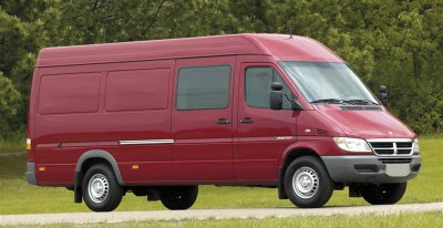 Dodge Sprinter cargo van.