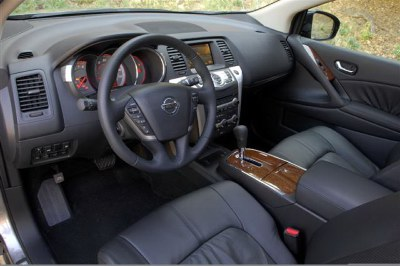 2009 Nissan Murano interior. Photo courtesy Nissan.