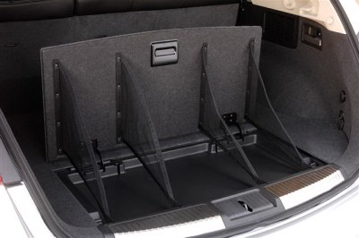 2009 Nissan Murano cargo area. Photo courtesy Nissan.