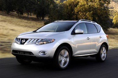 2009 Nissan Murano. Photo courtesy Nissan.