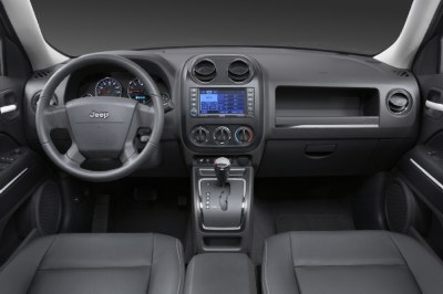 2009 Jeep Patriot interior view.
