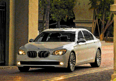 BMW 740 Li will be at the 2010 Detroit Auto Show.