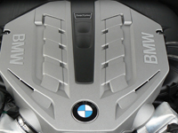 2010 BMW 550i Gran Turismo Engine