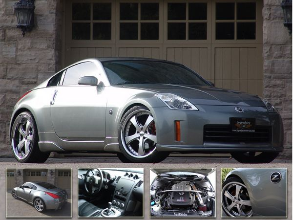 2006 Nissan 350Z. Photo credit: Legendary Motorcar Co. Ltd.
