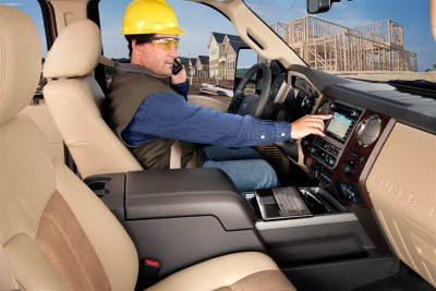 2011 Ford F-150 with Ford Work Solutions option.