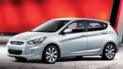 With buyers considering smaller cars, you need to show them that there's still plenty of room. And for that, there's not much that's more versatile than a hatchback like the 2012 Hyundai Accent's version.