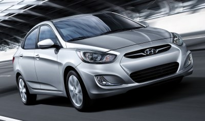 You'll no longer be seen as merely frugal when you buy a 2012 Hyundai Accent. Not when it looks like this, has 138 horsepower and still pulls down 6.7 L/100 km in the city.