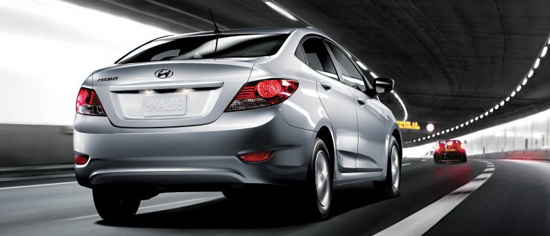 Hyundai's focus used to be on inexpensive transportation. Period. You can add style, pep and fuel economy to the description now with the 2012 Hyundai Accent.
