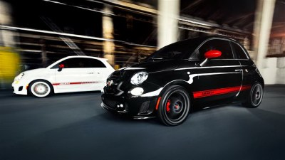 The Fiat 500 Abarth replaces some of the cuteness with sporty bits, but the five-speed manual transmission is short a gear when pitted against the comparable (albeit much pricier) Mini Cooper.