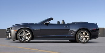 2012_Camaro ZL1: The convertible ZL1 will arrive after the tin-top model, late enough to deem it a 2013 edition.