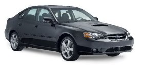 2006 Subaru Legacy GT sedan with all-wheel drive.