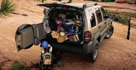 2005 Jeep Liberty cargo capacity