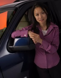 Lucy Yuen, Ford's supervisor of NVH (noise, vibration, harshness) for the2006 Explorer SUV.