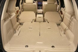 Cargo area of the 2006 Ford Explorer