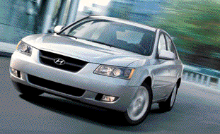 2006 Hyundai Sonata offers safety features such as ABS brakes; front, side and side curtain airbags; traction control; and vehicle stability control.