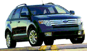 Ford Edge crossover.