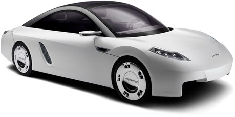 The German-designed Loremo could reach North America as soon as 2009. It gets 1.5 litres/100 km of diesel fuel.