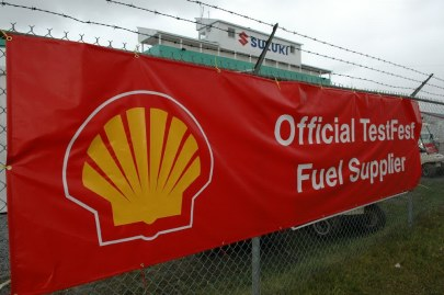 Shell Canada was the official fuel supplier for AJAC's TestFest in 2005 at Shannonville, Ont.
