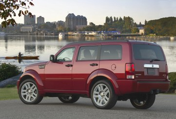 2007 Dodge Nitro SLT with 20-in. wheels