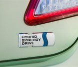 2007 Toyota Camry Hybrid has a hybrid logo on the back deck.