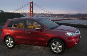 2007 Acura RDX is the Best Utility (SUV) of the Year in Canada.