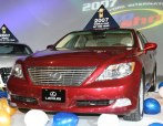 2007 Lexus LS460, the World Car of the Year.