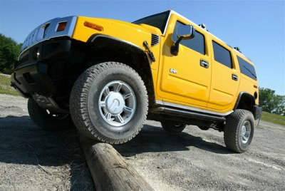 2007 Hummer H2, GM Photo.