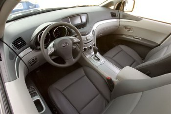 2008 Subaru Tribeca interior is distinctive among SUVs.
