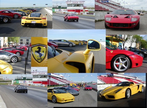 The Exotic Car Track Day took place at Race City in Calgary in June 2007. Photos by Doug Neilson.