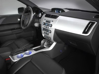 2008 Ford Focus interior.