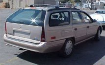 Ford Taurus Wagon, one of three owned (1986, 1990, 1994)
