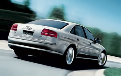 2008 Audi A8L. Photo courtesy Audi.
