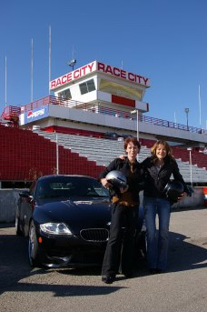 These two participants were all smiles at the annual Ladies Only Day held by the Alberta Chapter of the BMW Car Club of Canada. Photo by Doug Neilson.