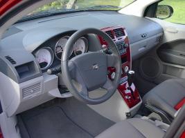 2007 Dodge Caliber SXT Interior. Photo By Crash Corrigan.