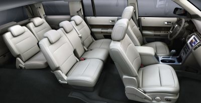 2009 Ford Flex interior.