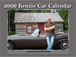 13 months are included in Jim Kenzie's 2009 Car Calendar.