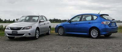 The 2009 Impreza comes in four- and five-door models.